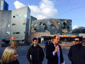 Tour by city design chief Rob Adams